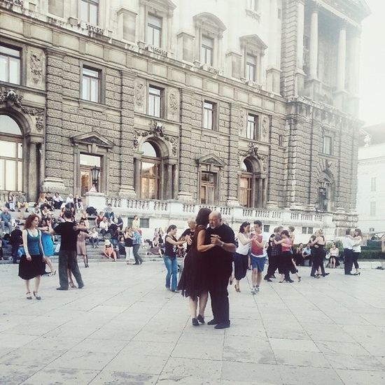 Tango Vienna Travel Dance Street