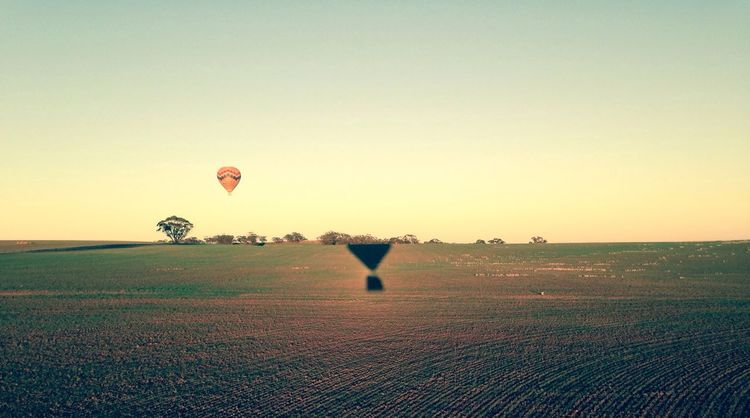 What Does Peace Look Like To You? Enjoying Life Hot Air Balloon <3