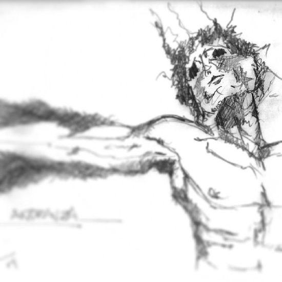 MyArt Añoranza Dibujo Draw grafito