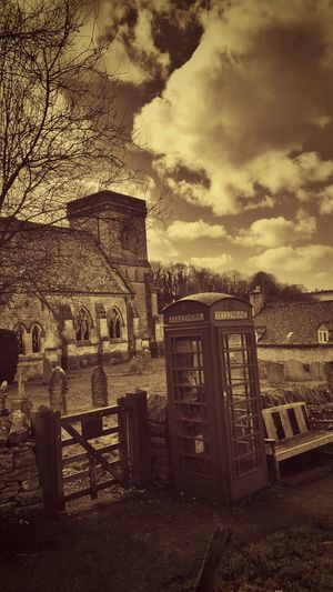 English Countryside EyeEm Best Edits EyeEm_crew Tadaa Community Winter in the Cotswolds Telephone Box Graveyard Beauty Church Churchyard In A Country Churchyard