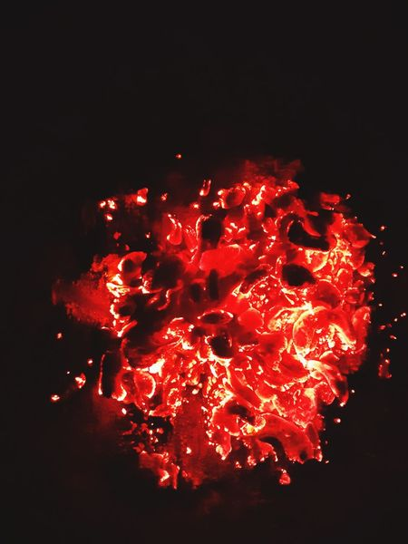 Red Heat - Temperature Exploding No People Lava Celebration Space Astronomy Outdoors Night Molten