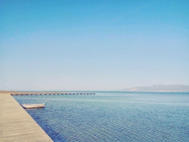 Sea Water Tranquility Scenics Tranquil Scene Blue Beauty In Nature