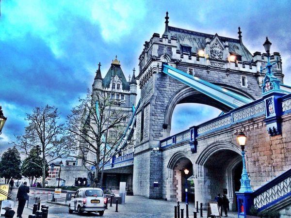 Tower bridge London River Thames