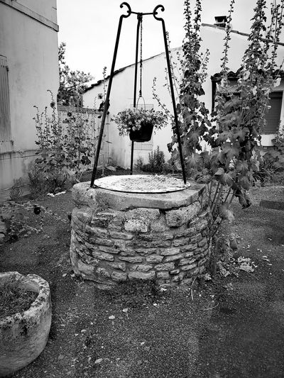 Outdoors Water Shaft Water Well Blackandwhite Photography Black & White Black And White Collection