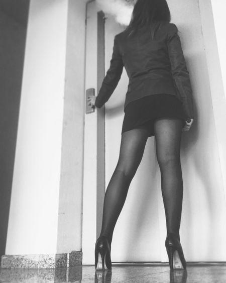 Office... vape on! Real People Lifestyles One Person Women Rear View Human Leg Day Indoors  Selfie ✌ Photo Vapeporn VapeLife Vape Sexyselfie Girls Office Travel Job
