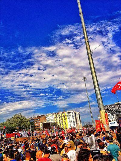 Anniversary Gezi Occupy Popular Photos People Taksim