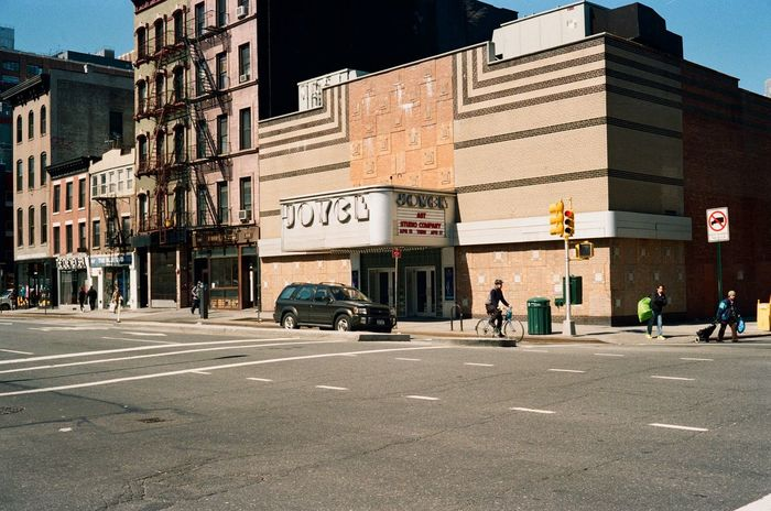 8th Avenue, 2016 Chelsea Manhattan NYC JoyceTheater Film Film Photography Canonet Canonetql17giii Lomography Color Negative 100 35mm Film 40mm Nyc Streets Architecture Artdeco NYC Street Intersection
