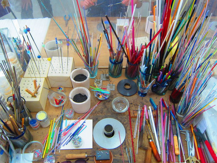 Artist's Glassware Studio Art Art And Craft Artist Artists Studio Colorful Desk Glass Art Glassware Studio Work Tool Artisian Kabe Glass Village kabe glass village Glass No Sato Things To Do In Hiroshima 広島 可部 ガラスの里 Place Of Heart EyeEm Selects Neon Life Crafted Beauty Modern Workplace Culture Inner Power Stories From The City Creative Space