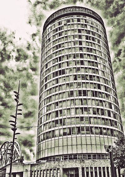 Another homesick image of my home area..... 2014 Low Angle View Architecture Building Exterior Sky Tall - High Built Structure Modern Office Building Tower Skyscraper City Tall Outdoors Day Cloud - Sky No People Development Building Story Large Rotunda England West Midlands EyeEm Homesick  United Kingdom