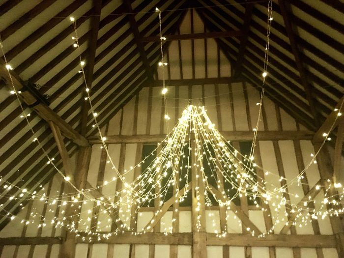 Twinkle Light Twinkling Lights Light Lights Party Time Party Evening Timber Be. Ready. Beam Wood Decoration Indoors  Ceiling Wedding Celebration Barn Fairy Lights Go Higher