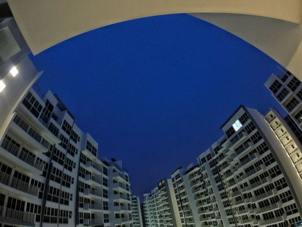 Lookingup Architecture Buildings & Sky From My Balcony Before Dark Taking Photos From My Point Of View Just Another Day Gopro GoPro Hero3+