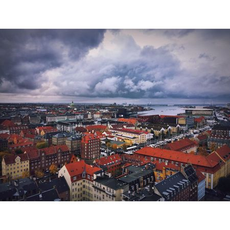 #vorfrelserskirke #copenhagen #landscape #københavn🇩🇰 #kobenhagen #denmark #danimarka #flyover #clouds #travel #iphone6 #iphonephotography First Eyeem Photo