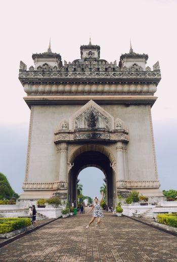 Trip In Laos Vientiane Patuxai