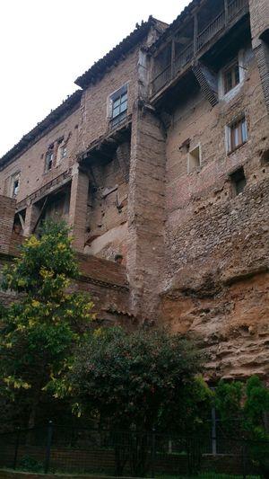 Las Casas Colgantes en Tarazona