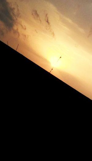 Sunset Sky Beauty In Nature Orange Color Nature Cloud - Sky Sun Scenics - Nature Sunlight Outdoors