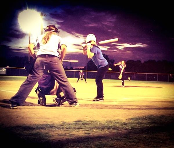 Pitch! I will hit you. ⚾️ Fastpitch  Throw Like A Girl Softball