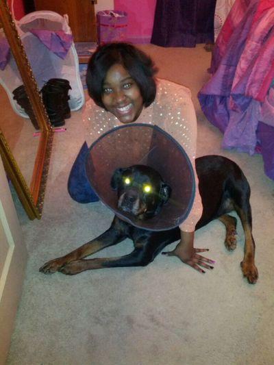 My Doggy & I ' Are Eyes Look Weird