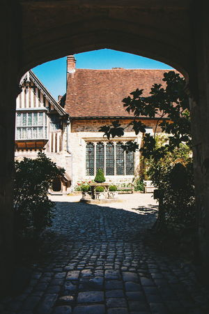 And the rest - National Trust Ightham Mote Architecture Built Structure Sky Entryway Gate Arched Entrance Arch Entry Historic Archway Building Exterior