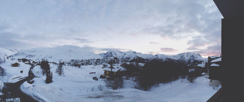 Alpe d'Huez 2014 Ski Snow Landscape Hanging Out
