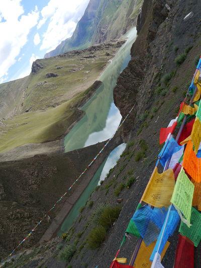 Budhist Budhist Centre Sky Tibet Tibet Culture Tibet Dam Tibet Travel Tibetan  Tibetan Buddhism Tibetan Prayer Flags