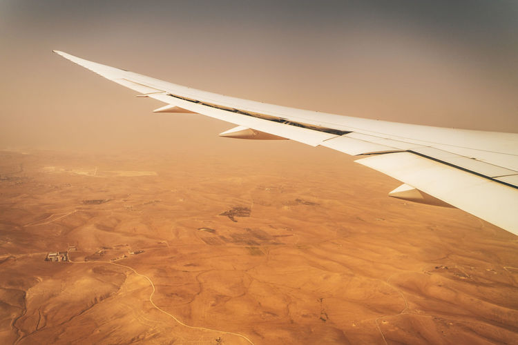 Dreamliner Air Vehicle Airplane Transportation Flying Mode Of Transportation Aircraft Wing Travel Journey Aerial View No People Environment Sky Nature Aerospace Industry Motion Outdoors Travel Destinations on the move Landscape Commercial Airplane
