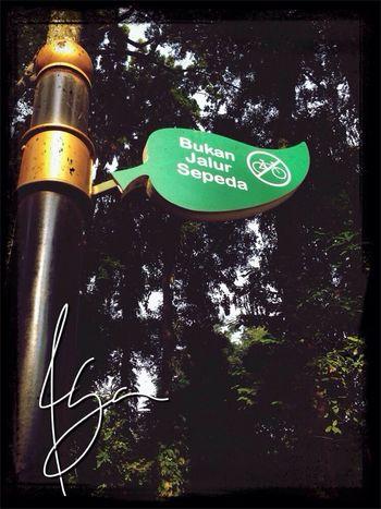 Sign yg menyebalkan Razhar Bogor MTB