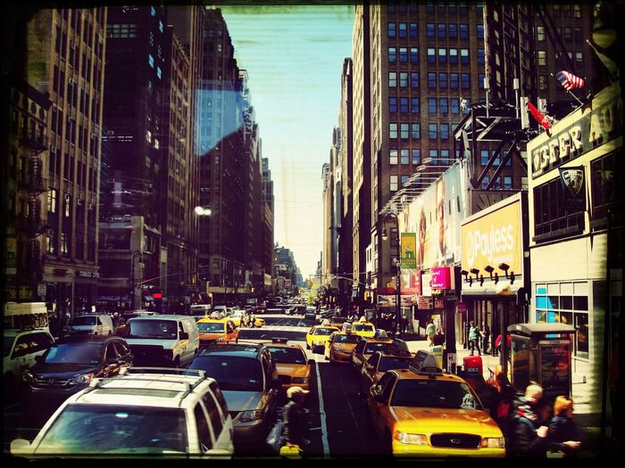 Concrete Jungle Traveling New York City Taxis