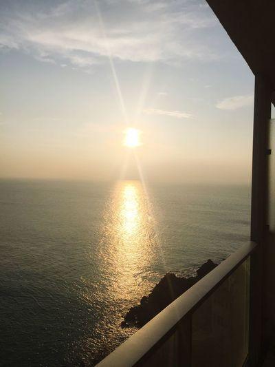 Sea Sunset Scenics Water Sun Tranquil Scene Beauty In Nature