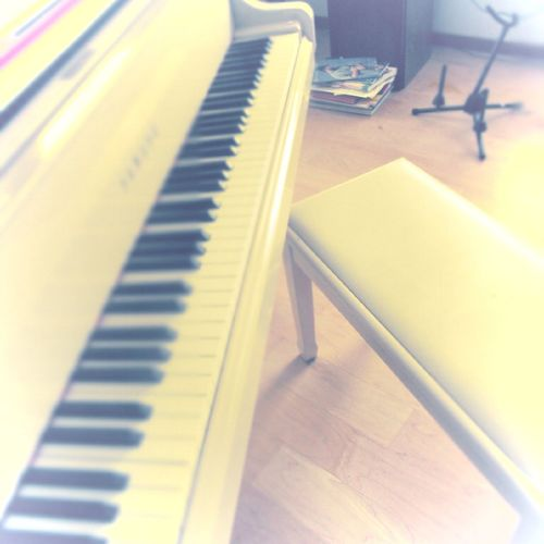 Piano Indoors  Musical Instrument Piano Key Music No People Day Close-up