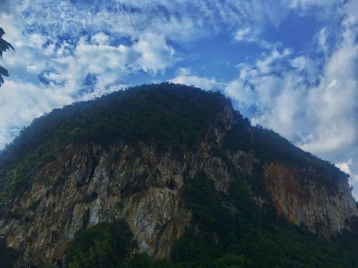 Limestone Cave Cloud - Sky Blue Sky Nature Perak Green Nature