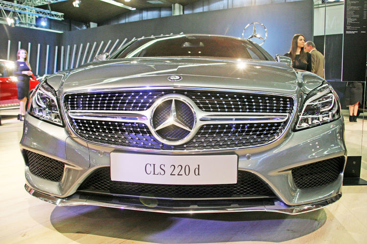 Zagreb Auto Show 2016.,cars,4,Mercedes CLS 220 d,Zagreb,Croatia,EU 2016. Automobile Car Croatia Design Eu Exhibition Expo High Technology Land Vehicle Show Speed Spring Style Transportation Zagreb Zagreb Auto Show