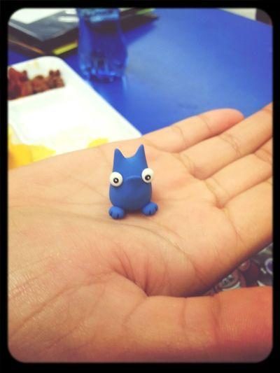 what my friend got me at comic con (: Handmade Liitlecreature Blue