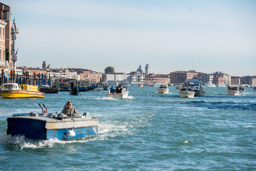 Venice, Italy Architecture Boat Building Exterior Built Structure Day Gondola - Traditional Boat Harbor Mode Of Transport Moored Nature Nautical Vessel No People Outdoors Sea Sky Transportation Venice Water Waterfront