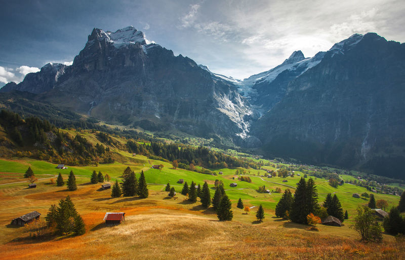 Swiss Alps. Alps Europe Landscape Mountain Mountain Peak Mountain Range Nature Outdoors Swiss Alps Switzerland Tourism Travel Travel Destinations Vacations
