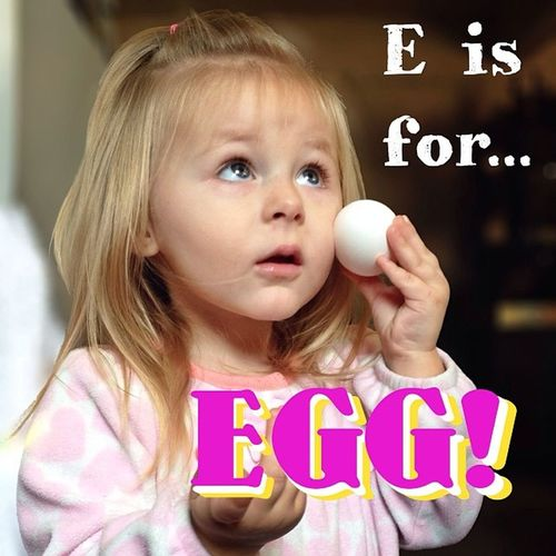 E is for... EGG! Cutekidsclub Cutekidsnov Day10 Eisfor egg