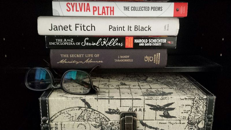 Books ♥ Poetry Sylvia Plath  On Paper Specticals