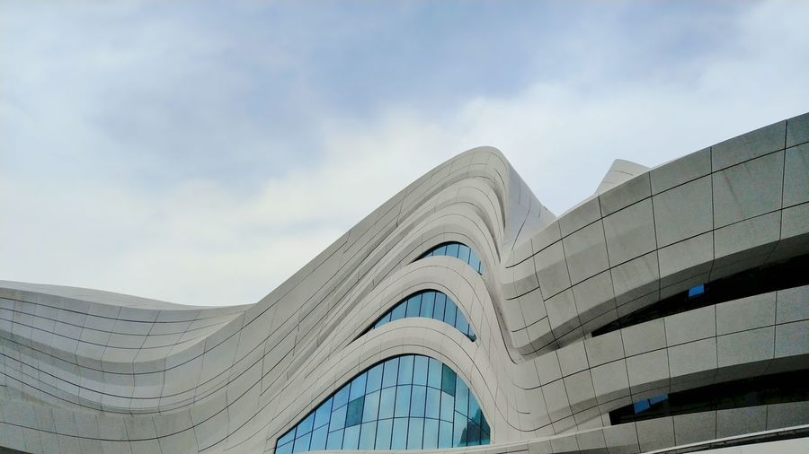 Zaha Hadid Architecture Design City Modern Arts Culture And Entertainment Sky Architecture Built Structure