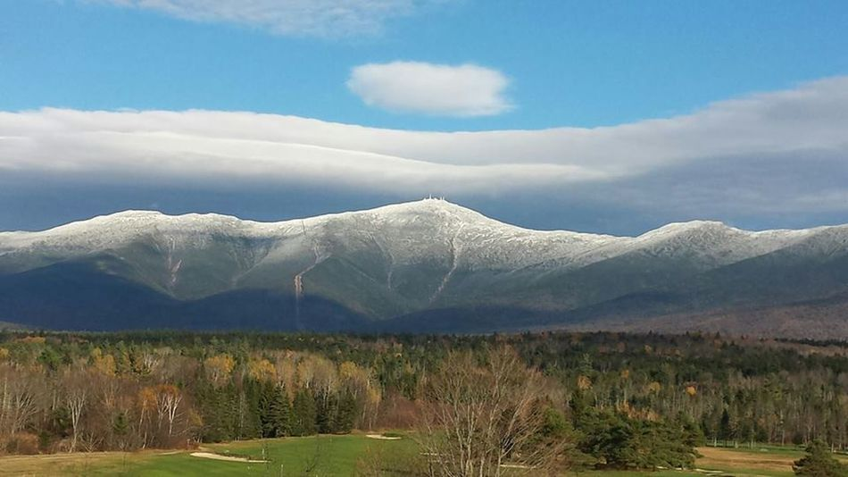 Beauty In Nature Cloud - Sky Day Landscape Mountain Mountain Peak Nature New Hampshire No People Outdoors Scenics Sky