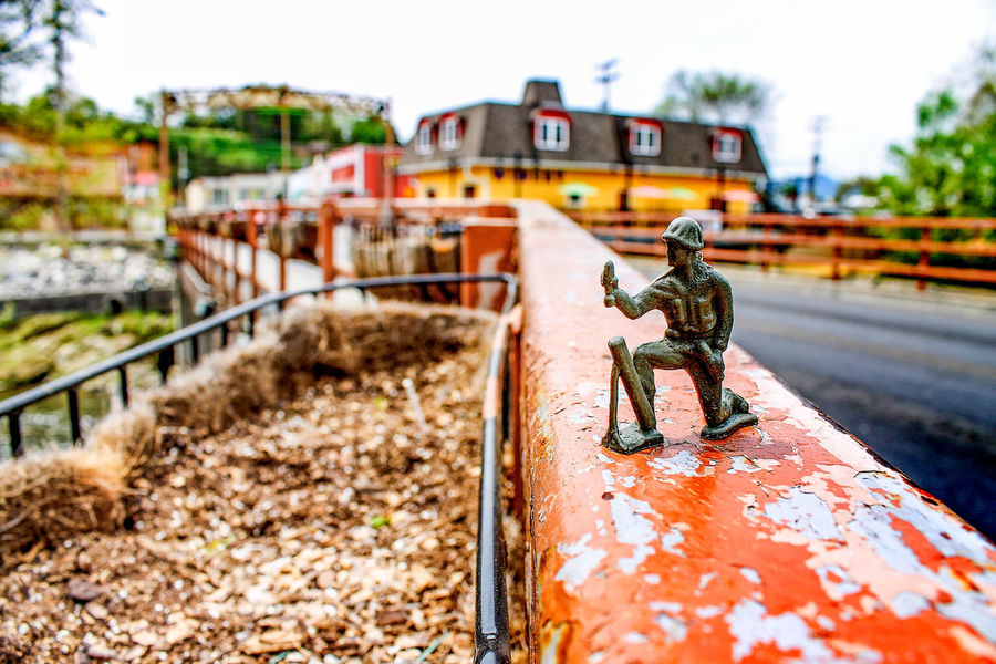 Outdoors No People Day Close-up Toy Soldier Cityscapes Town City Country Toy Bridge Sunshine