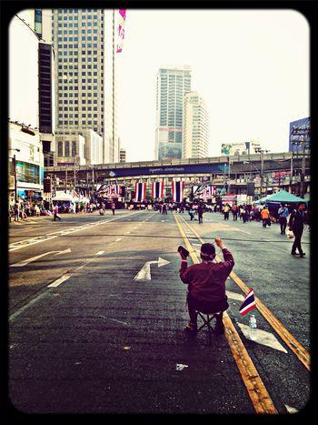 Thaiuprising Shutdown Bangkok