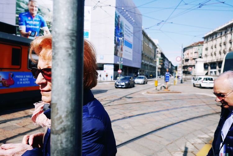 Street City Architecture Building Exterior Street Incidental People Real People Lifestyles Day Men Women Glasses Outdoors