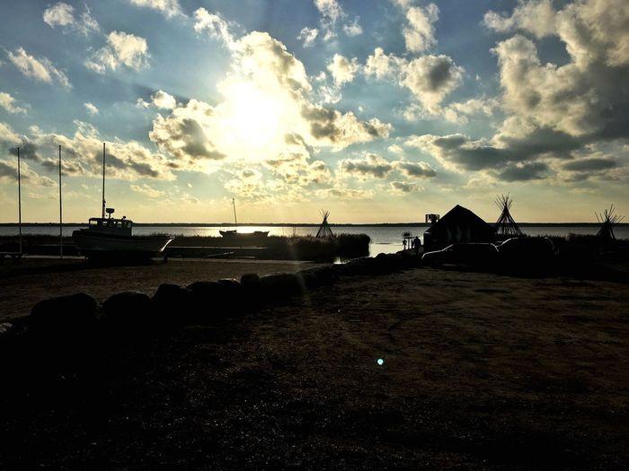 Sunset Sky And Clouds Baltics2k16