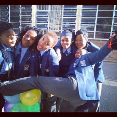 Zandy 'sB.day :D @school Mygurls Instajoy Instacray AyaTurntUp !! <3