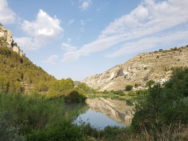 Jucar LaMancha Rio Reflection Reflejos En El Agua Matutino River Relax Colour Of Life