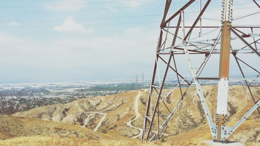P o w e r l i n e s Cityview Trails Powerlines Geometric Shapes Shapes And Lines Retro