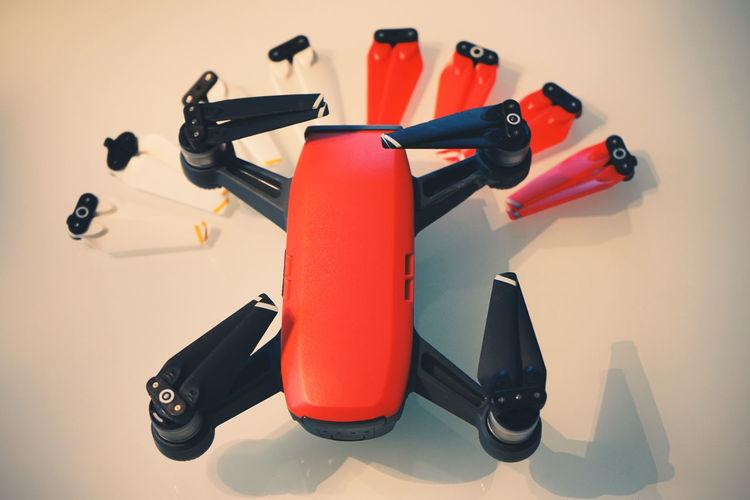 red Quadcopter