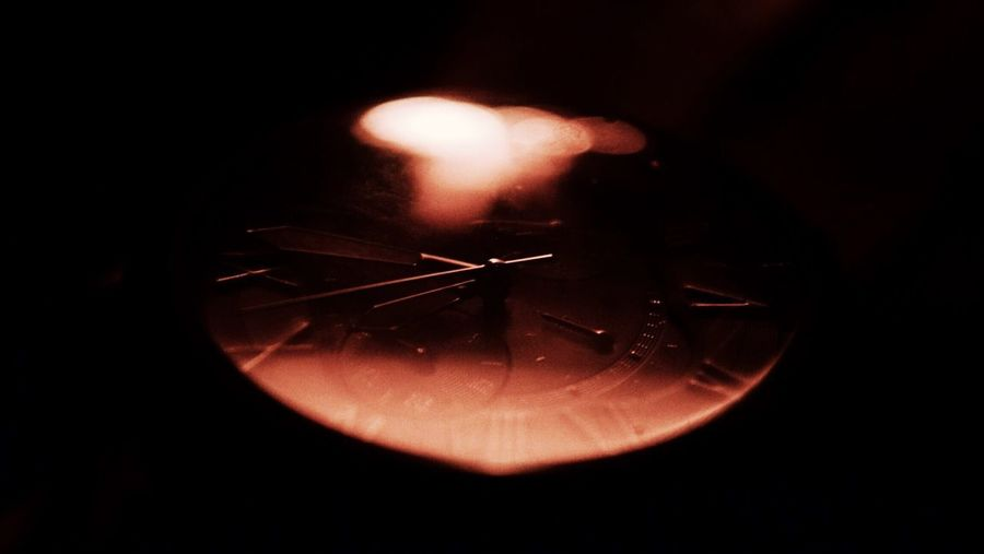 -Tock- Night Close-up Black Background Negative Space The Week On EyeEm Watch Reflection Campfire Orange Burning