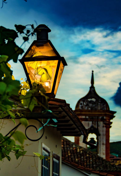 Ouro Preto - Brasil Architecture Building Exterior Close-up Day Lamp Lampiao Low Angle View No People Outdoors Sky