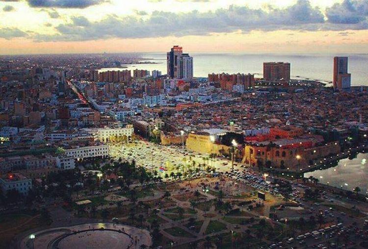 Tripoli Libya Martyrssquare Downtown Cityview Tripolitower Corinthiahotel Citycenter