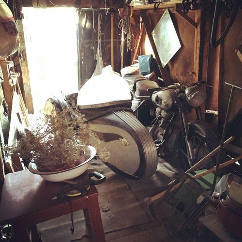 Simsonlovers Simson Simsonstoye Stoye Granpa Grandpa's Garage Garage Motorbike Sidecar First Eyeem Photo